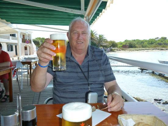 S'Algar, Hiszpania: Cheers enjoy your holiday