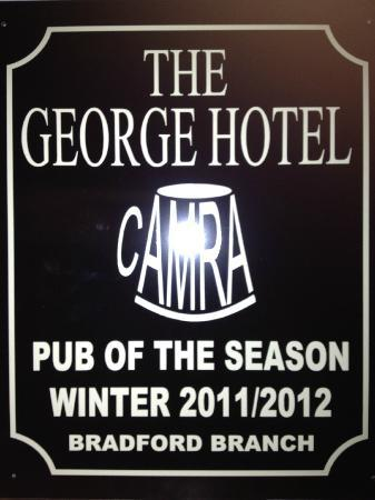 The George Hotel: Pub of the season