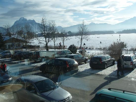 Hotel Geiger: Blick vom Speisesaal auf See
