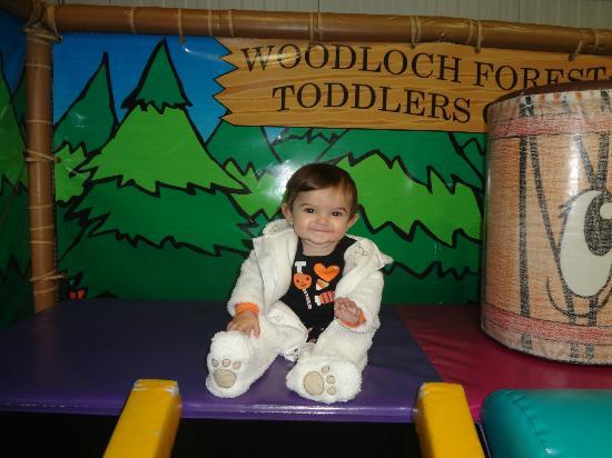 Woodloch Pines Resort : Woodloch Indoor Forest Playground