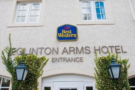 Best Western Glasgow South Eglinton Arms Hotel: Outside The Hotel