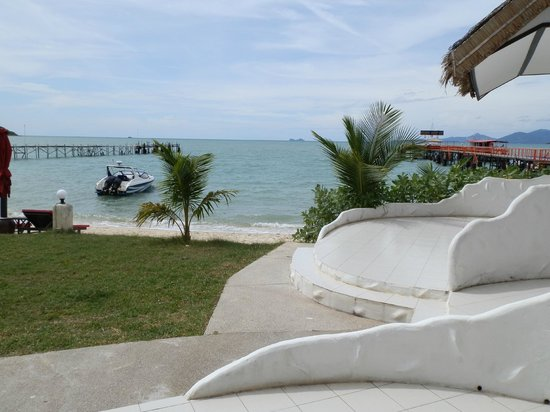 Samui Pier Resort: view from room 2
