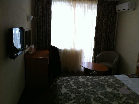 Bratislava Hotel: Single room interior