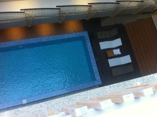 Rivavi Fashion Hotel: Pool from 3rd floor balcony