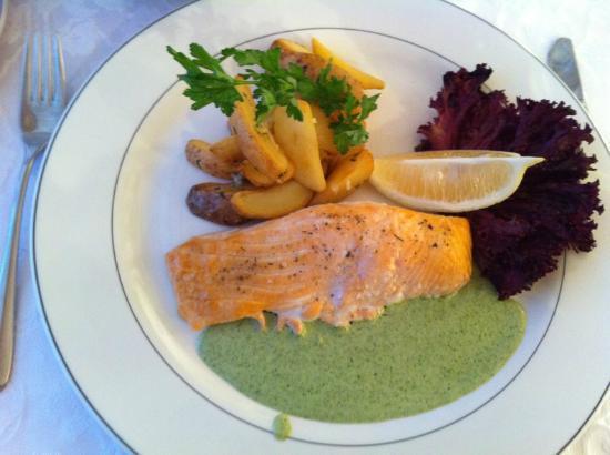 Bratislava Hotel: Salmon Steak
