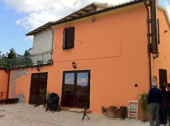 Sassoferrato, Ιταλία: Ingresso ristorante