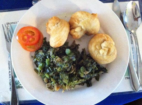 Mandeville, Jamaica: Breakfast