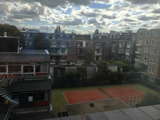 Conscious Hotel Museum Square: Vista desde la habitación 402