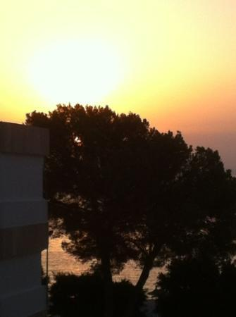 Marina Palmanova Apartments: sunrise from the balcony