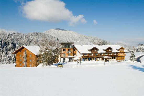 Hotel Oberstdorf im Winterkleid