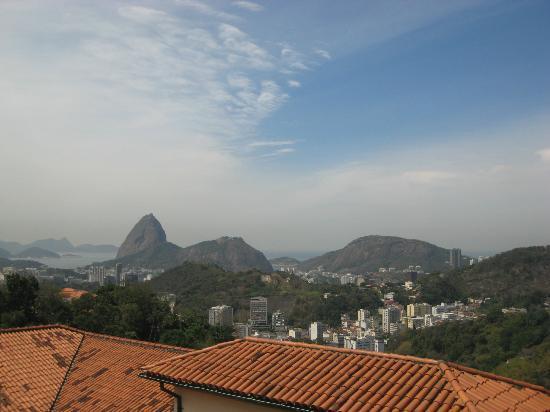 Casa 579: Blick von der Dachterasse auf den Zuckerhut