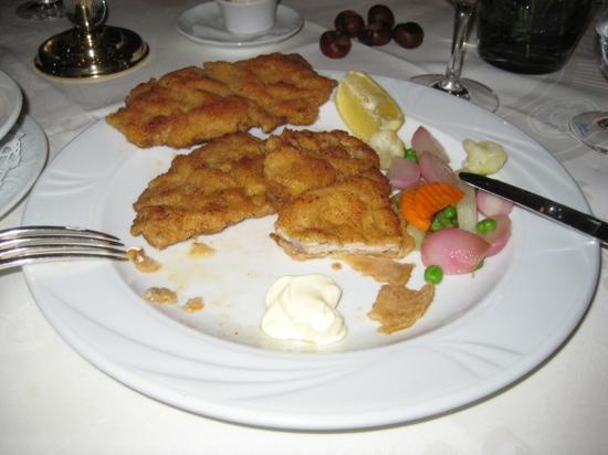 Hotel & Gasthaus Schwanen : schnitzel