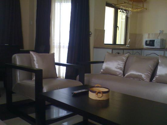 Sea Villas Apart'hotel: Seating Area