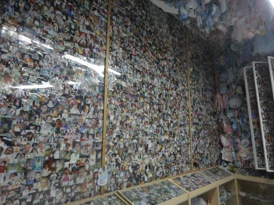 Santuario San Gerardo: Sala dei fiocchi