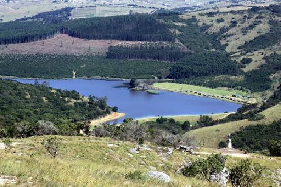 Lake Eland Game Reserve, South Africa: Lake Eland Mile- where swim takes place each year