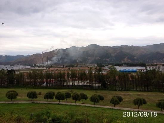 Gaoguli Cultural Tourism Zone: 好太王墳から鴨緑江を望む
