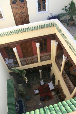 Dar Taliwint : court intérieure