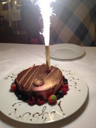 Astonishing My Birthday Cake Picture Of Schloss Fuschl A Luxury Collection Funny Birthday Cards Online Inifodamsfinfo