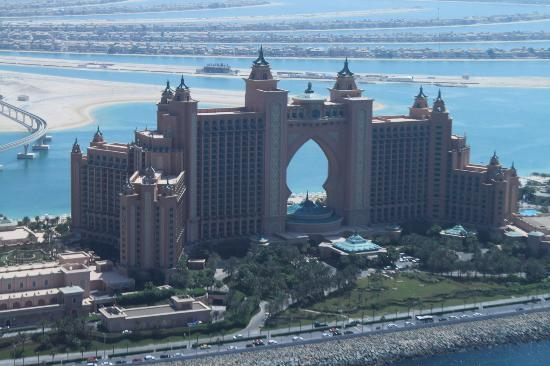 Atlantis The Palm Aerial View