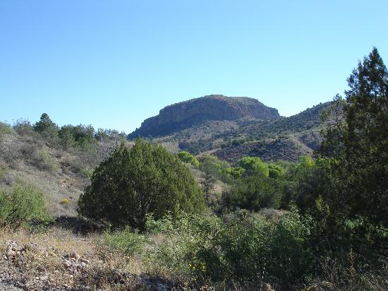 Casitas de Gila Guesthouses: view of Turtle Rock