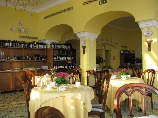 La Tonnarella: Breakfast room
