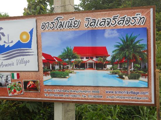 Armonia Village Resort and Spa: indicazioni villaggio