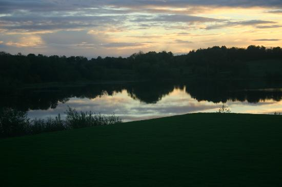 Fermanagh Self Catering: killyfole autumn sunset