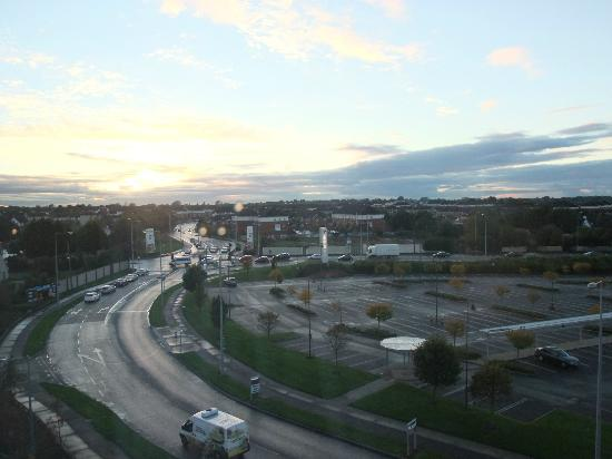 Premier Inn Dublin Airport Hotel: View from our room 510