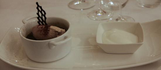 Ristorante Babette: Chocolate Mouse and Sorbet