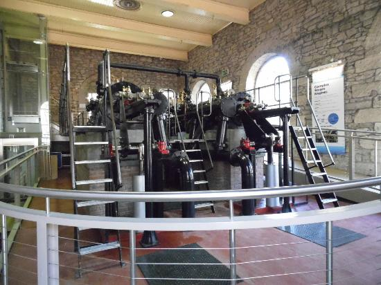 New Lanark World Heritage Village: Steam engine