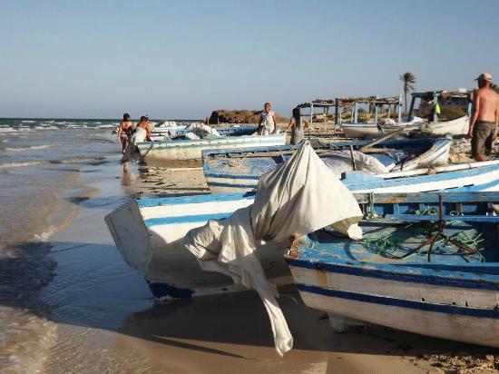 Club Iliade: pescherecci spiaggia