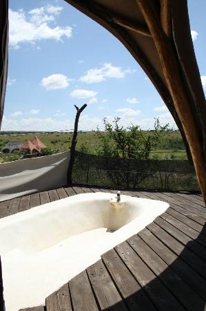 Amani Mara Lodge: Outdoor Spa