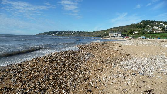 The Beach Rooms: Charmouth Beach