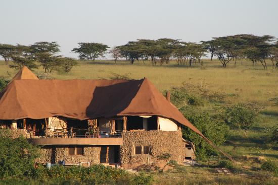 Amani Mara Camp: The main hall