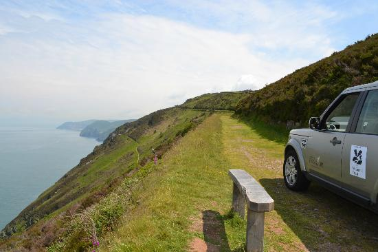 Experience Exmoor: Admire the stunning views and wildlife on our safaris.