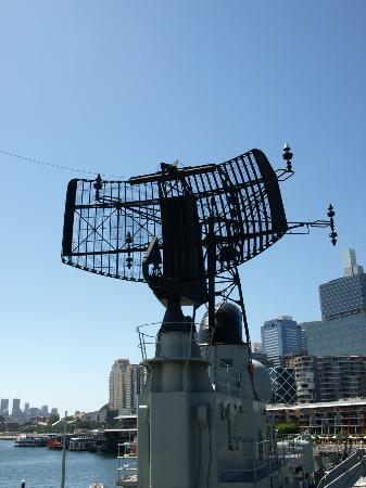 Marinmuseet i Darling Harbour: Radar