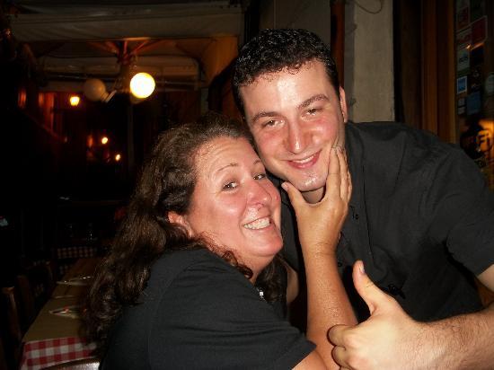 Ristorante Il Fico: Armando the best waiter in the world!