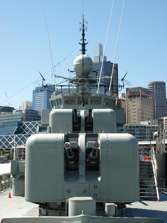 Australian National Maritime Museum: A & B turrets