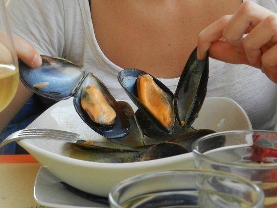 Ristorante Cafe Pinar: enormi e buonissime!