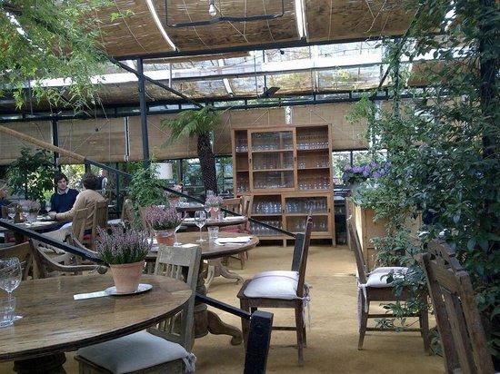 Photo of Modern European Restaurant Petersham Nurseries at Off Petersham Road, Richmond-upon-Thames TW10 7AG, United Kingdom