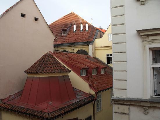Hotel Dar: Вид из окна нашего номера