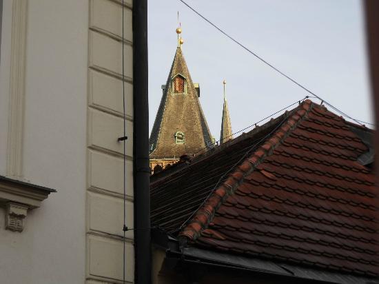 Hotel Dar: Вид на Старомежскую ратушу из нашего номера