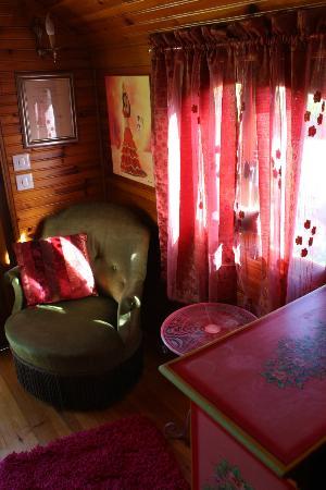 Le Clos de la Challangette : Sitting Room