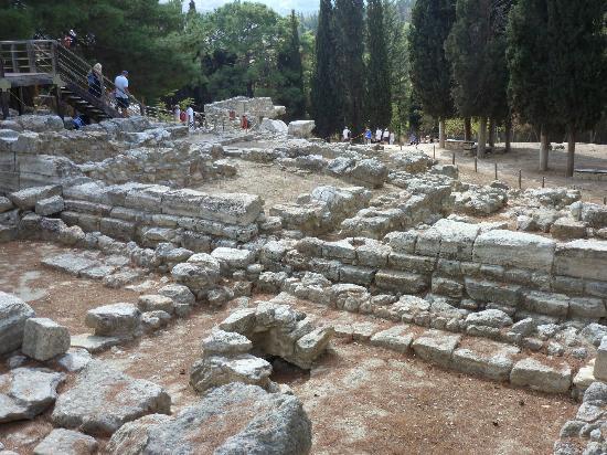 Palast von Knossos: Ruins