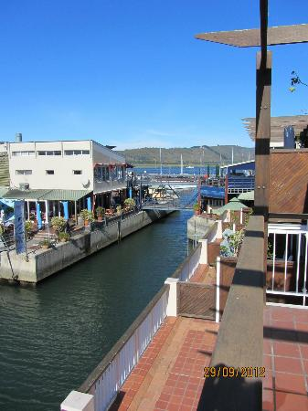 Apartments at Knysna Quays: Other direction - view from apartment