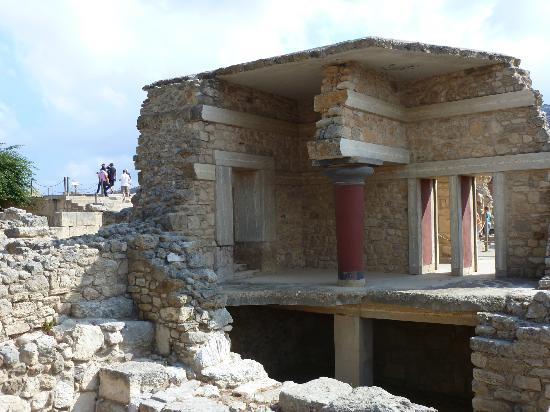 The Palace of Knossos: Concrete here