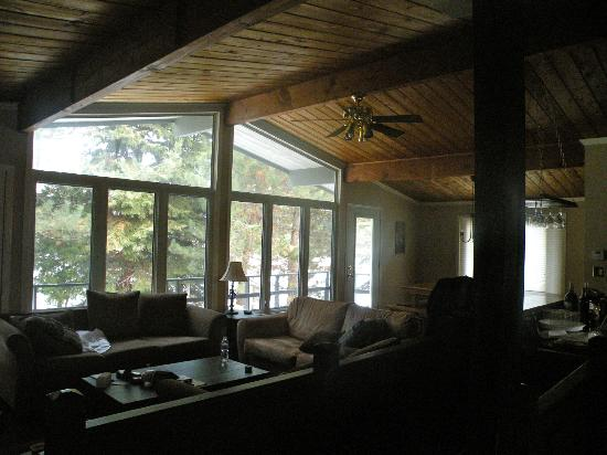 The Lodges at Blue Mountain : Favorite sitting area