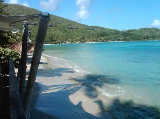 Rosewood Little Dix Bay: View from Beach Grill