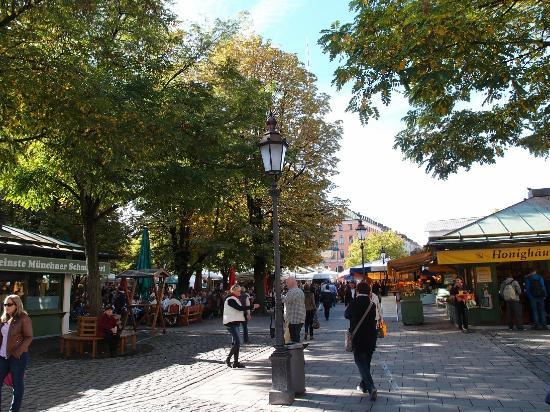 マリエン広場, ヴィクトリアリエンマルクト広場