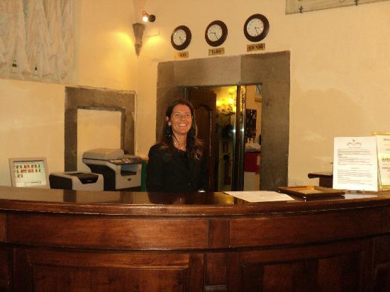 Hotel San Michele : Francesca - Front Desk Manager
